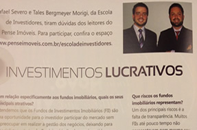 , Escola de Investidores na Revista Pense Imóveis